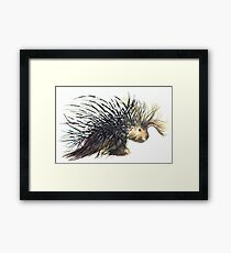 Coldprickly, a children's book story and illustration Framed Print