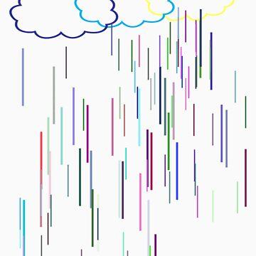 Rainy Daze T-Shirt by simpsonvisuals