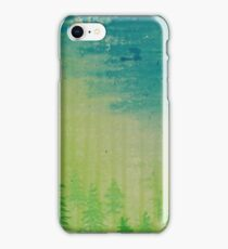Ghost Forest iPhone Case/Skin