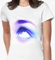 Look up, look out, look all around... Womens Fitted T-Shirt