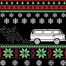 Vanagon Ugly Christmas Sweater by wantneedlove