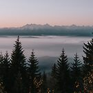 Faraway Mountains - Landscape and Nature Photography by ewkaphoto