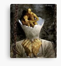 inside-out Canvas Print