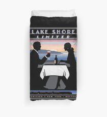 AMTRAK : Vintage Lake Shore Limited Railroad Advertising Print Duvet Cover