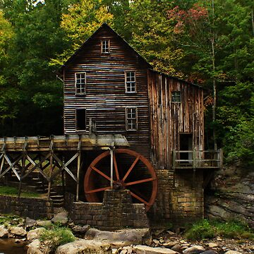 West Virginia Grist Mill by jagrolet