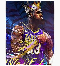 Lebron at the Lakers - Poster