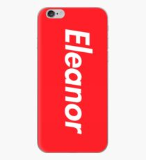 Hello My Name Is Eleanor Name Tag iPhone Case