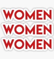 Girl's power Sticker
