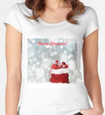 Christmas Season Fitted Scoop T-Shirt