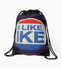 I Like Ike Drawstring Bag