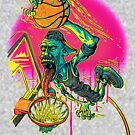 Basketball Hoops Slam Dunker by MudgeStudios