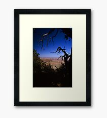 View From the North Rim, Grand Canyon, Arizona Framed Print