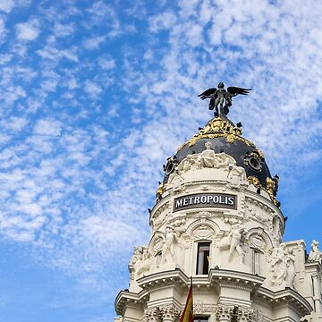 Gallivanting Around Madrid is a Pure Delight - Iconic Metropolis Building by GeorgiaM