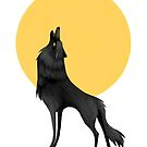 Howling Wolf by Sarah-Lisa Hleb