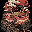 Dragon's Ramen by Ilustrata Design