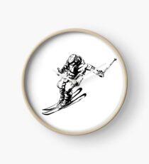 Skier 2 Clock