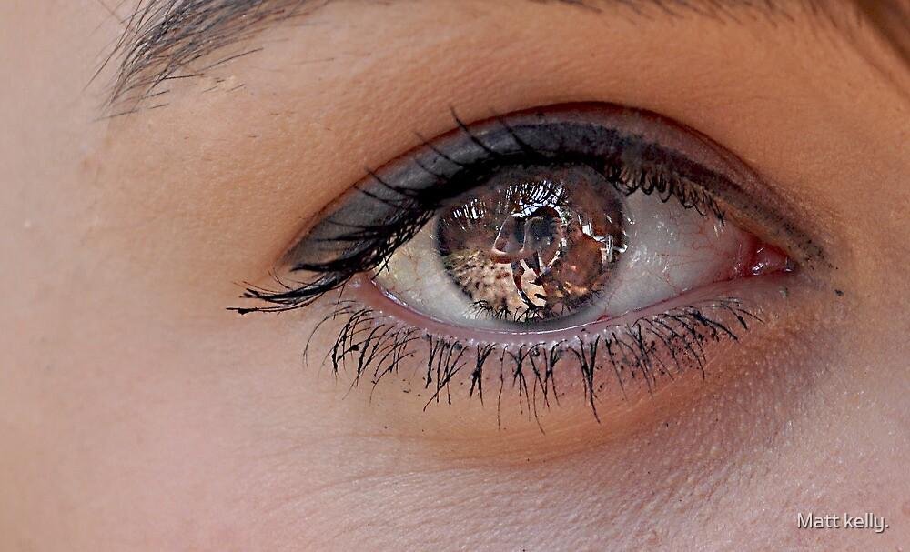 Mysterious eye (look closely) by Matt kelly.