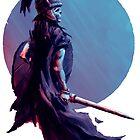 Dark Germanic Warrior by dlikt