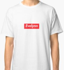 Hello My Name Is Evelynn Name Tag Classic T-Shirt