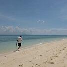 Solitude Found On A Busy Beach by vonb