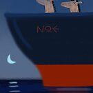 Night watch on the Noah's Ark by Harriet Wenske