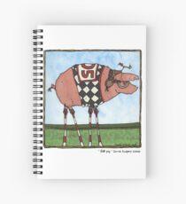 Stilt pig Spiral Notebook