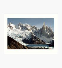 a beautiful Argentina landscape Art Print