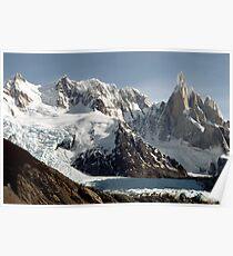 a beautiful Argentina landscape Poster