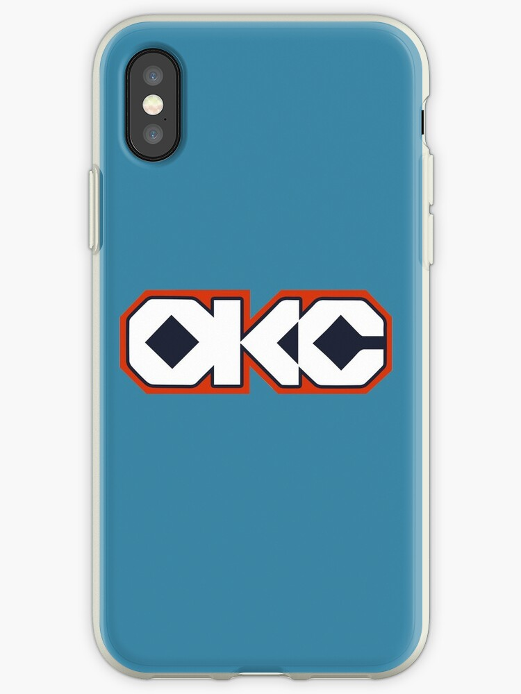 info for e074c c6363 'Oklahoma city edition' iPhone Case by slawisa