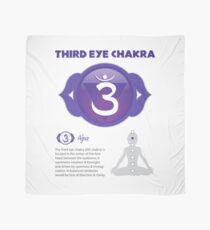 Drittes Auge Chakra Poster Tuch