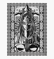 Legend of Zelda Midna Twilight Princess Geek Line Artly  Photographic Print