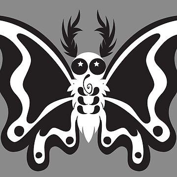 Contrast Moth by mydragonzeatyou