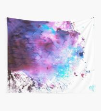 Purple and Blue abstract Tela decorativa