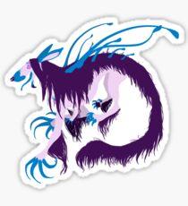 Magic Demon Dog Zaany Sticker