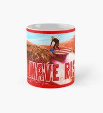 Red Wave Rising Mug