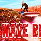 Red Wave Rising by ayemagine