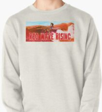 Red Wave Rising Pullover