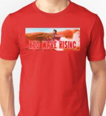 Red Wave Rising Unisex T-Shirt