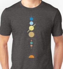 Star System Minimal Graphic [Sol] Unisex T-Shirt