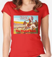 The Wagon Train Women's Fitted Scoop T-Shirt