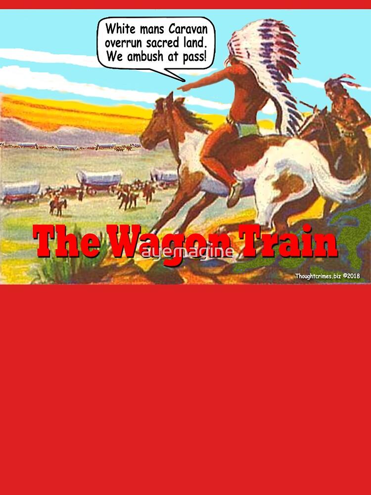 The Wagon Train by ayemagine