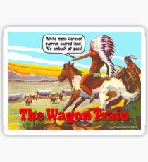 The Wagon Train Sticker