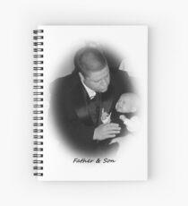 "Father & Son"" Spiral Notebook"