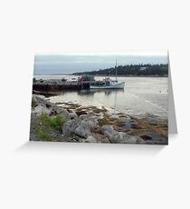 West Pennant,Nova Scotia Greeting Card