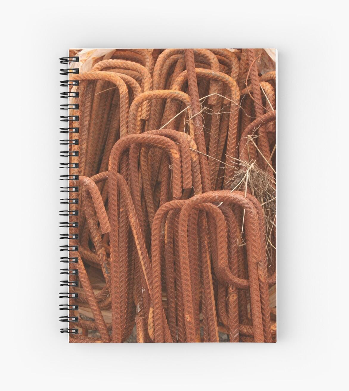 Rusty pins by Sue Hammond