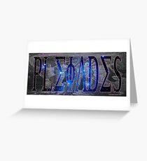 The Pleiades Greeting Card