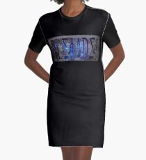 The Pleiades Graphic T-Shirt Dress