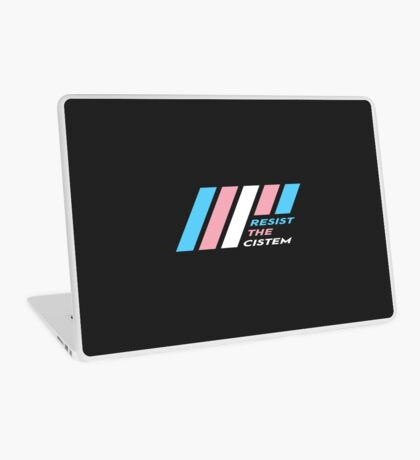 Pride Stripe: Resist The Cistem Laptop Skin