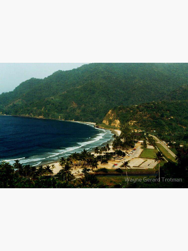 Maracas Bay by redmoondragon