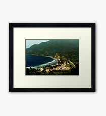 Maracas Bay Framed Print